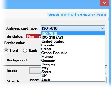 Free business card maker download imagem 2 do free business card maker reheart Image collections