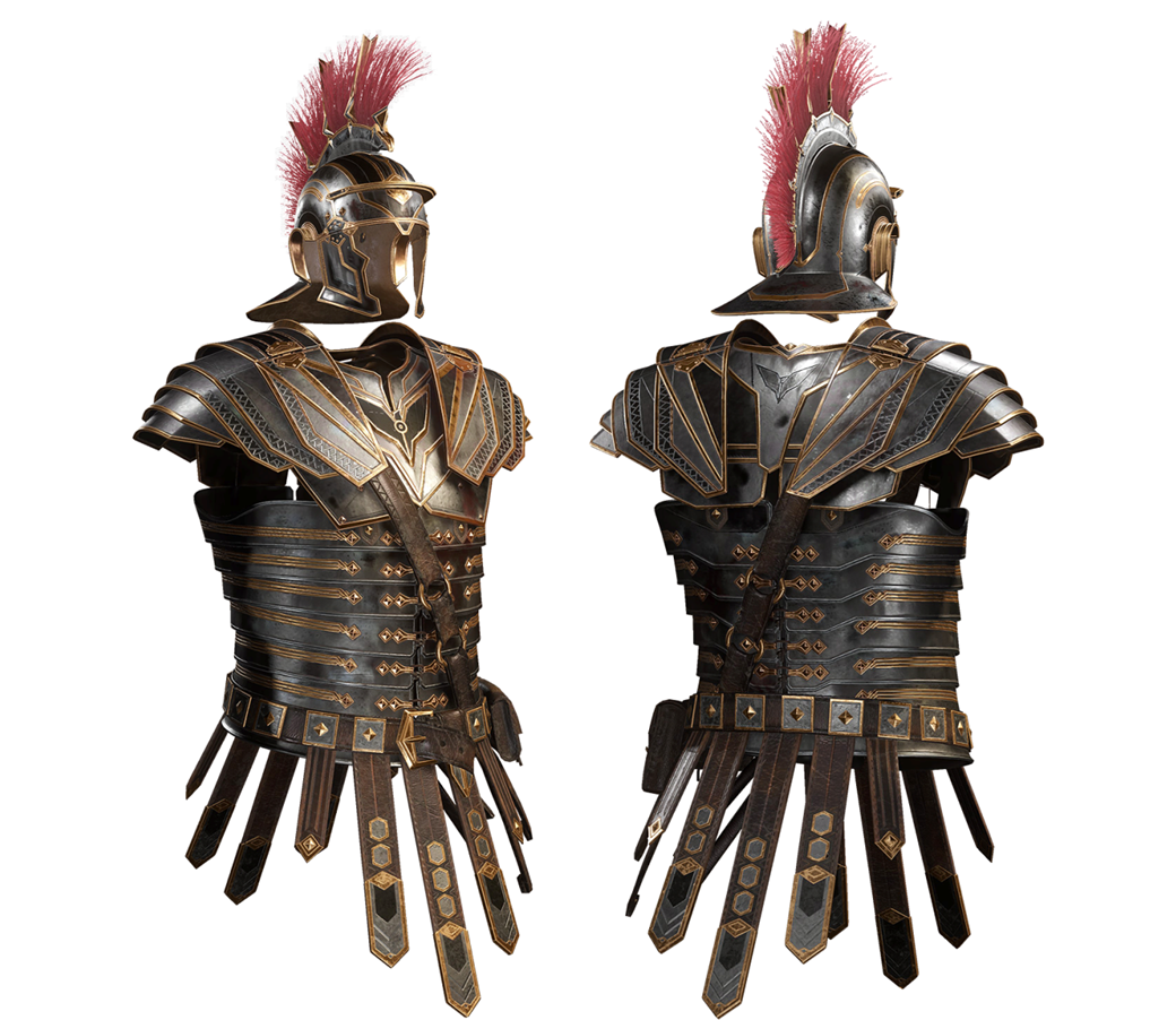Modelo final da armadura
