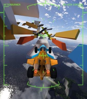 Jet Cars Stunts