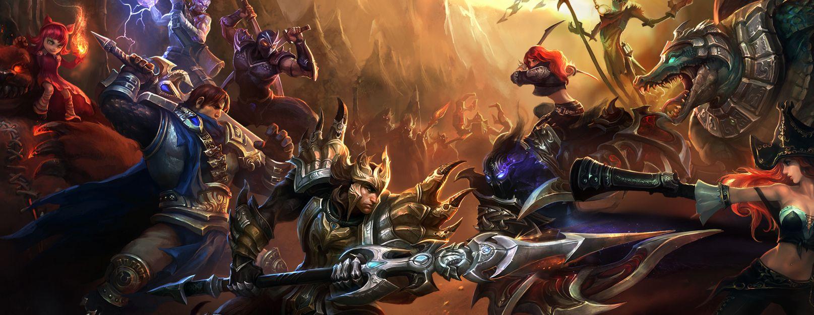 League of Legends será um dos títulos presentes na X5 Mega Arena