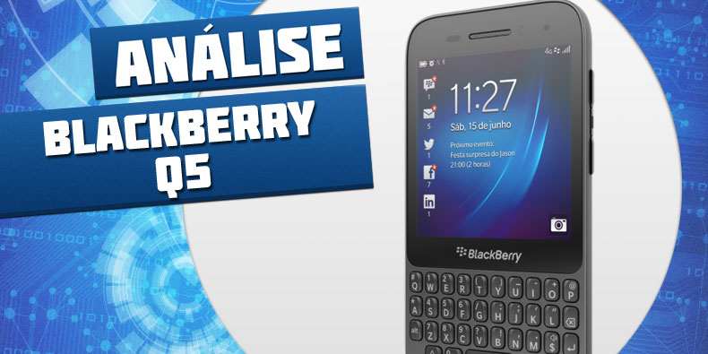 Review: smartphone BlackBerry Q5 - TecMundo
