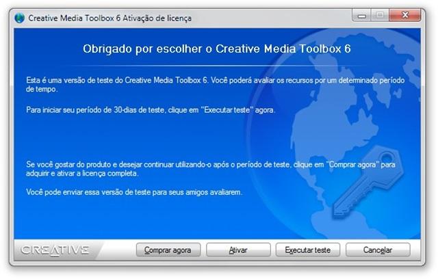 Creative Media Toolbox 6 Activation