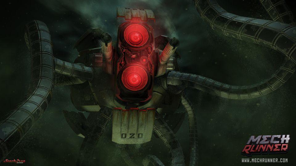 MechRunner: confira novas artes conceituais do game [vídeo]