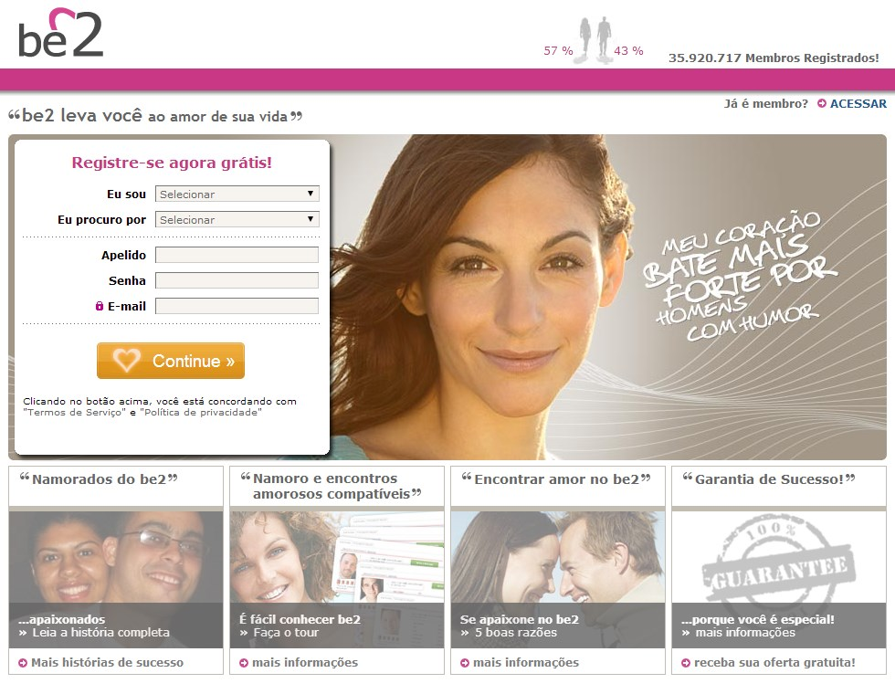 Site de relacionamento internacional confiavel gratuito