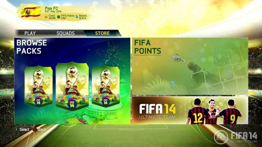 Copa do Mundo chega ao Ultimate Team de FIFA 14 na semana que vem