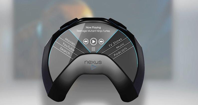 Conceito incrível: Nexus Play é portátil para games com tela curva [vídeo]