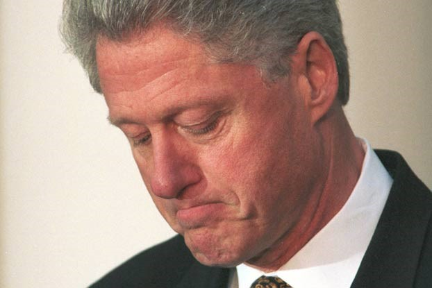 Resultado de imagem para Clinton  e a farsa