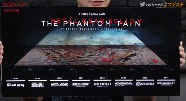 Metal Gear Solid 5: The Phantom Pain ganha vídeo de gameplay e mapa imenso