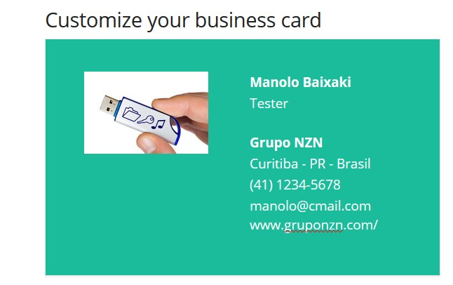 Business card maker download reheart Images