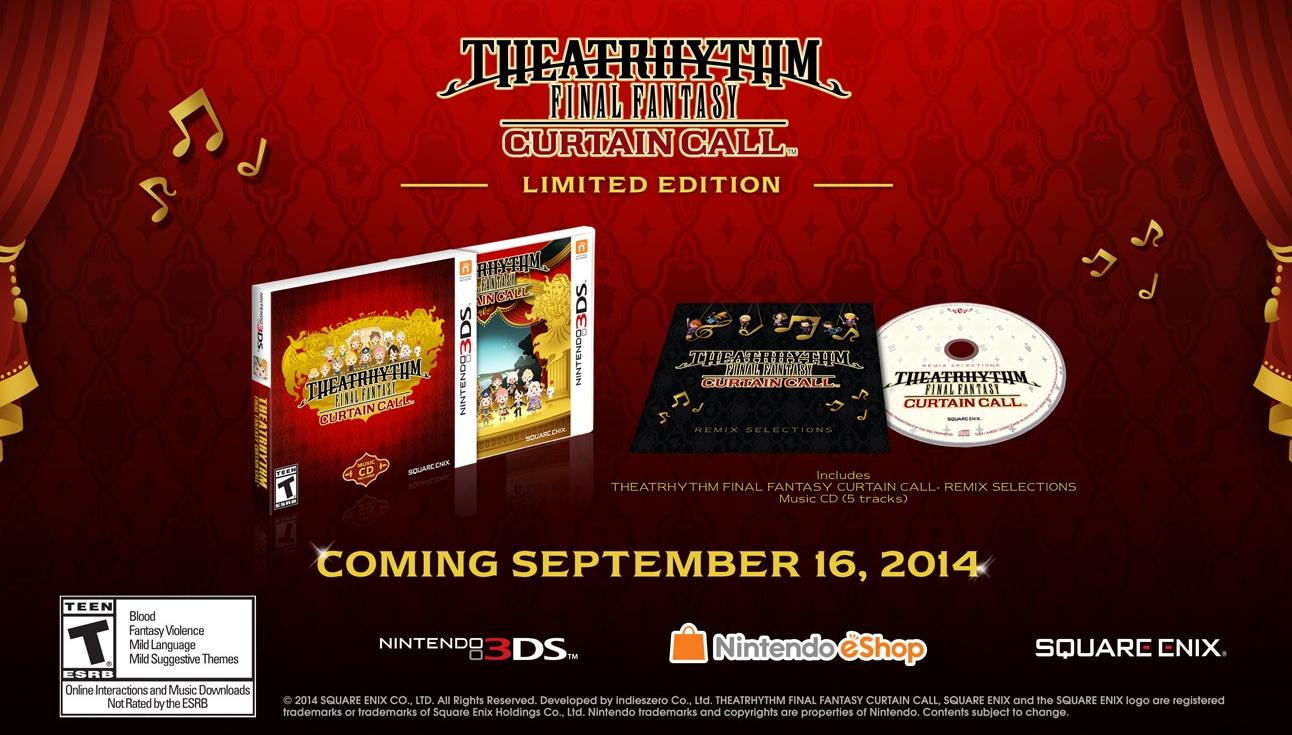 Novo Theatrhythm chega em 16 de setembro com duas edições especiais [vídeo]