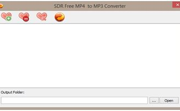 SDR Free MP4 to MP3 Converter Download para Windows Grátis