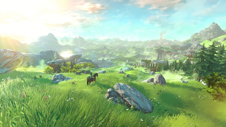 Screenshots de The Legend of Zelda para Wii U revelam visual caprichado