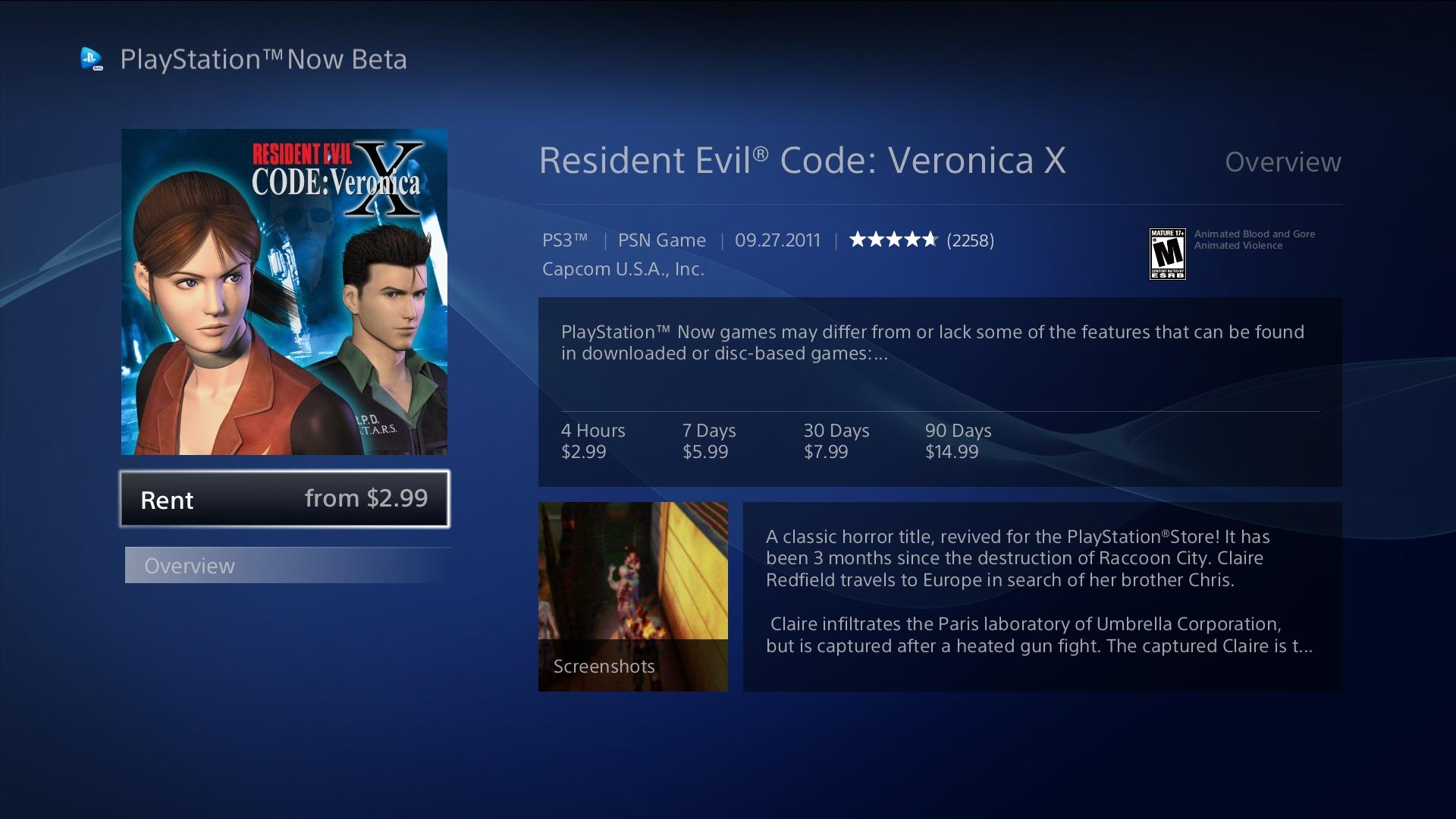 PlayStation Now estará disponível nos EUA em TVs da Sony na semana que vem