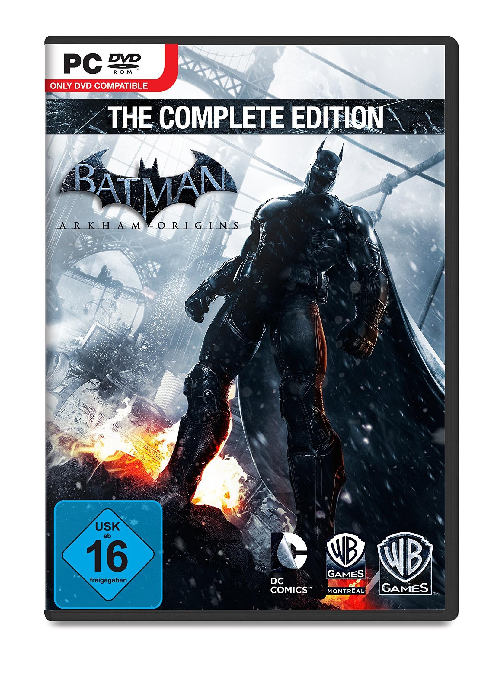 Batman: Arkham Origins Complete Edition aparece em pré-venda na Amazon