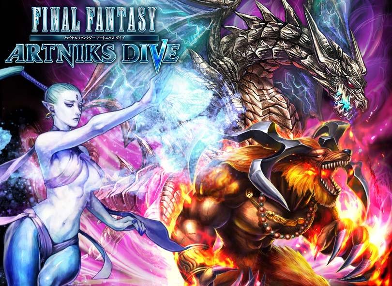 Artniks Dive: Square anuncia novo Final Fantasy para Android e iOS