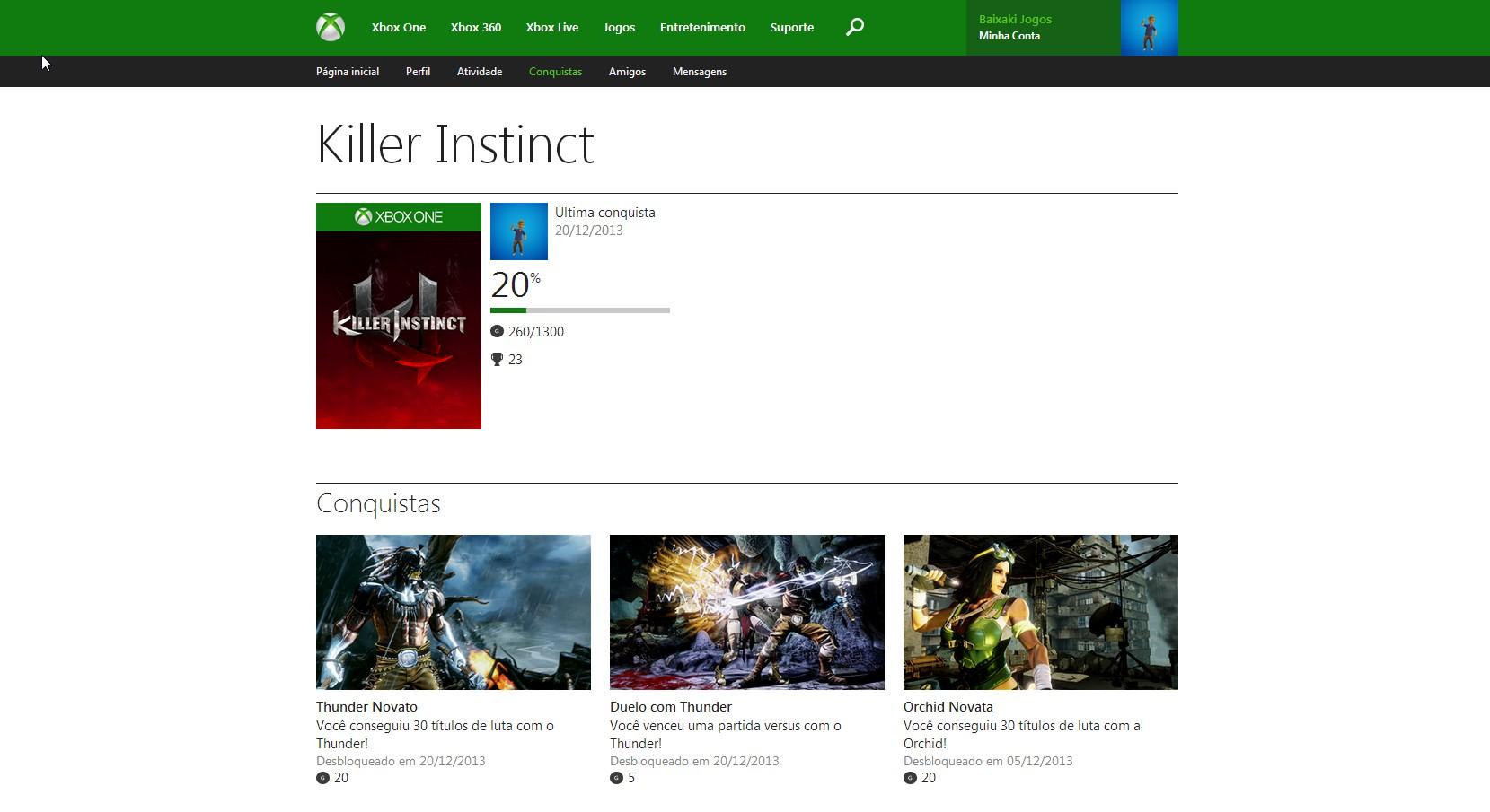 Perfis do Xbox One já estão disponíveis no site oficial