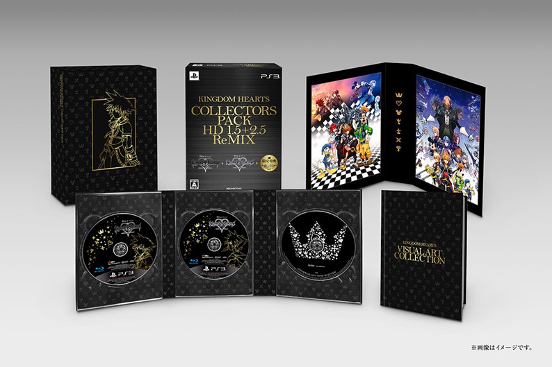 Kingdom Hearts HD 2.5 ReMIX terá seis bundles diferentes no Japão