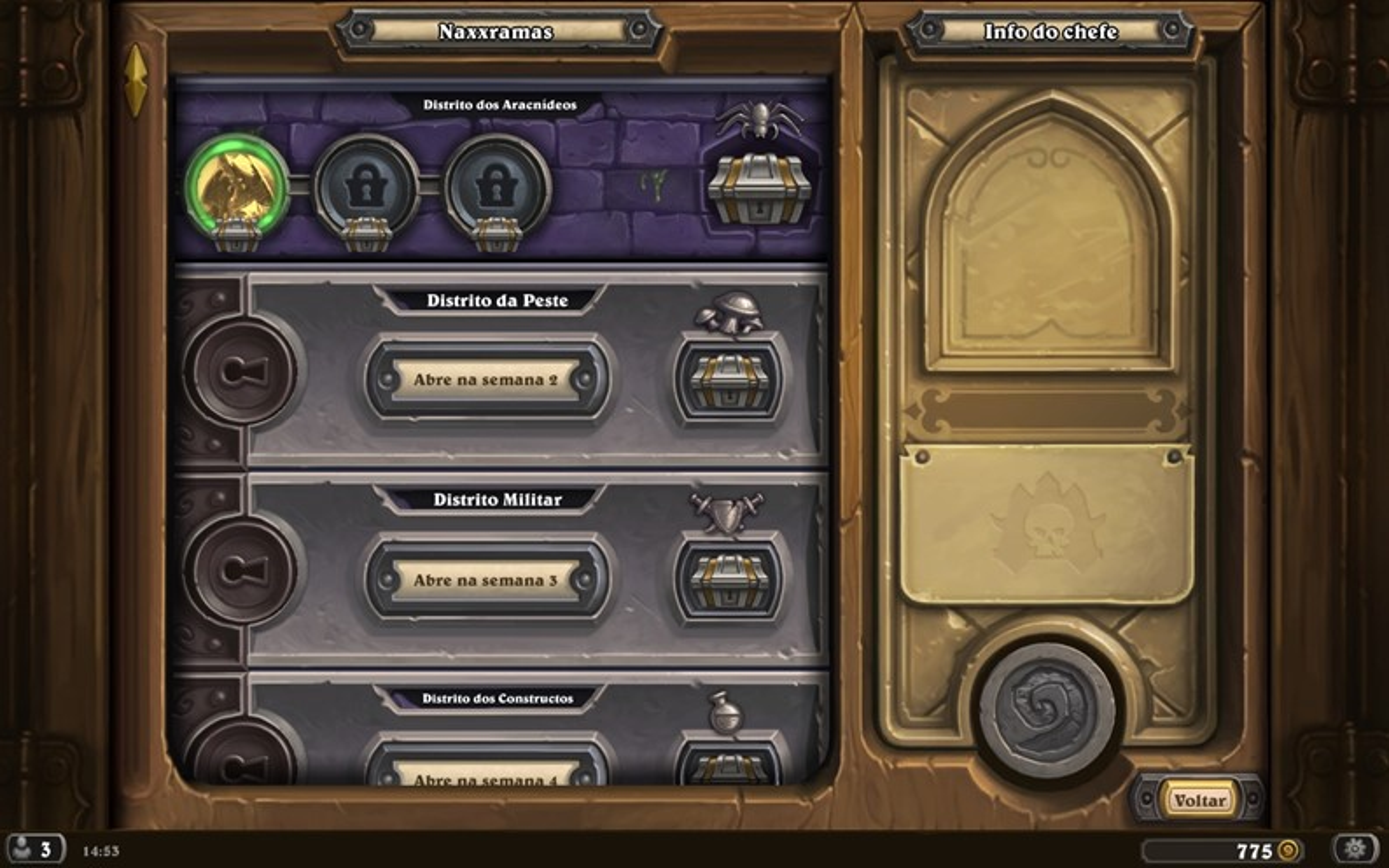 Hearthstone: Curse of Naxxramas está disponível para PC e iPad