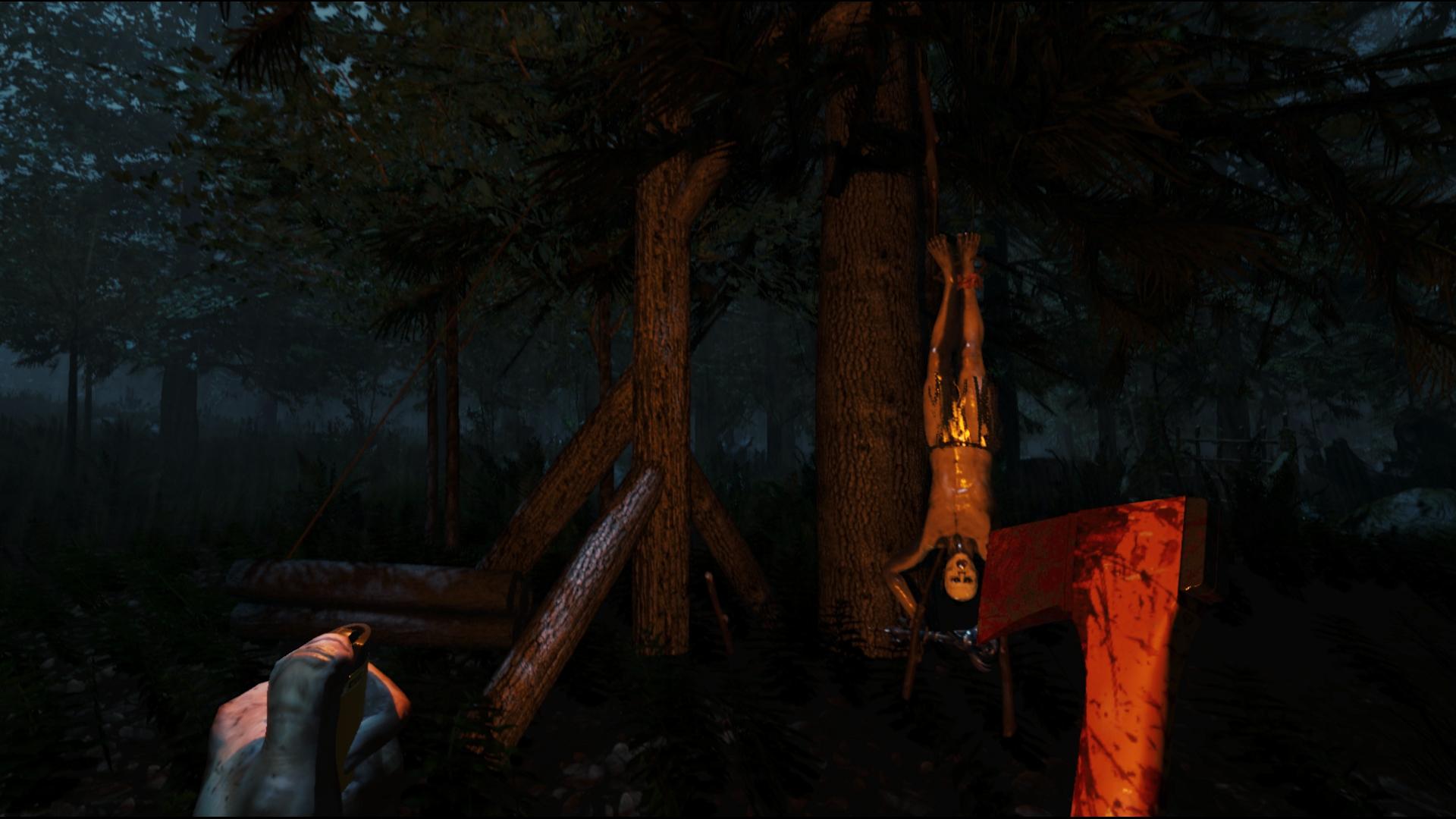Tentamos sobreviver aos perigos da ilha de The Forest. Veja