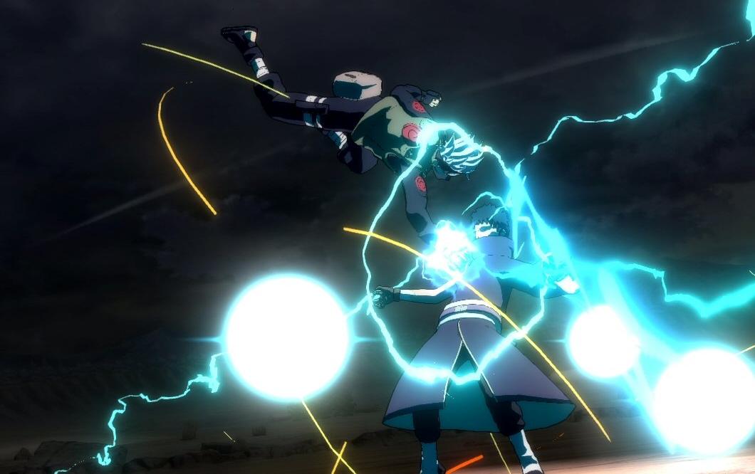 Sakura e Kakashi serão ninjas jogáveis em Naruto: Ninja Storm Revolution
