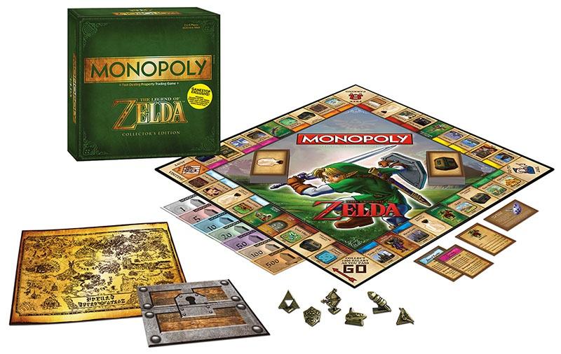 Confira a incrível edição especial de Monopoly tematizada com Zelda