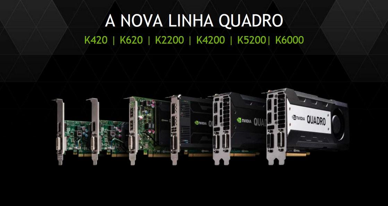 NVIDIA anuncia segunda geração de placas de vídeo QUADRO