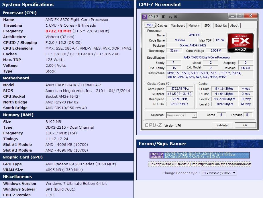 Overclock: nova CPU AMD FX 8370 ultrapassa os 8,7 GHz e bate