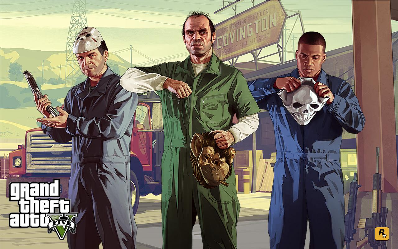 Baixe agora mesmo um pacotão de papéis de parede de Grand Theft ...