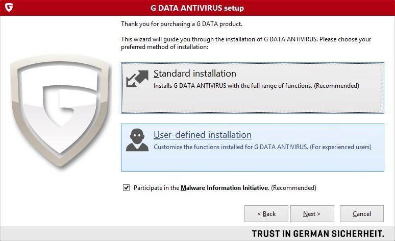 G Data AntiVirus Download para Windows Grátis