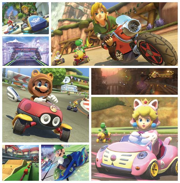 DLCs de Mario Kart 8 disponíveis para compra a partir de 27 de setembro
