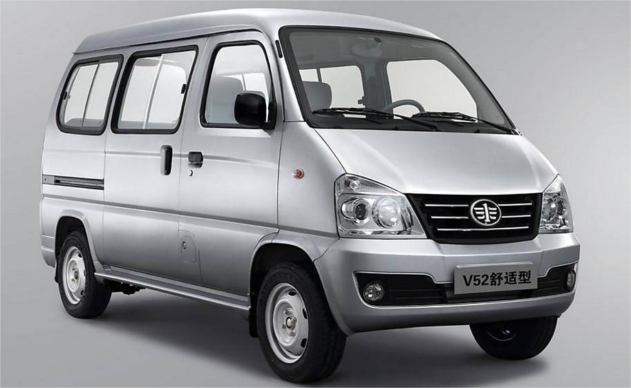62c34a086f1 A microvan Faw Jiabao está entre os cinco carros mais baratos do mundo. O  modelo V52 é comercializado na China por R  9.826