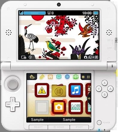 Cerca de 50 temas estarão disponíveis em breve para customizar o seu 3DS