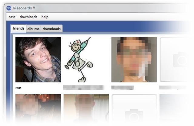 Facebook Album Downloader - Imagem 2 do software