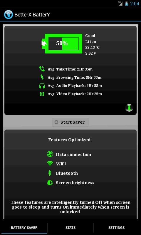 BetterX Battery(2 X Life) - Imagem 1 do software