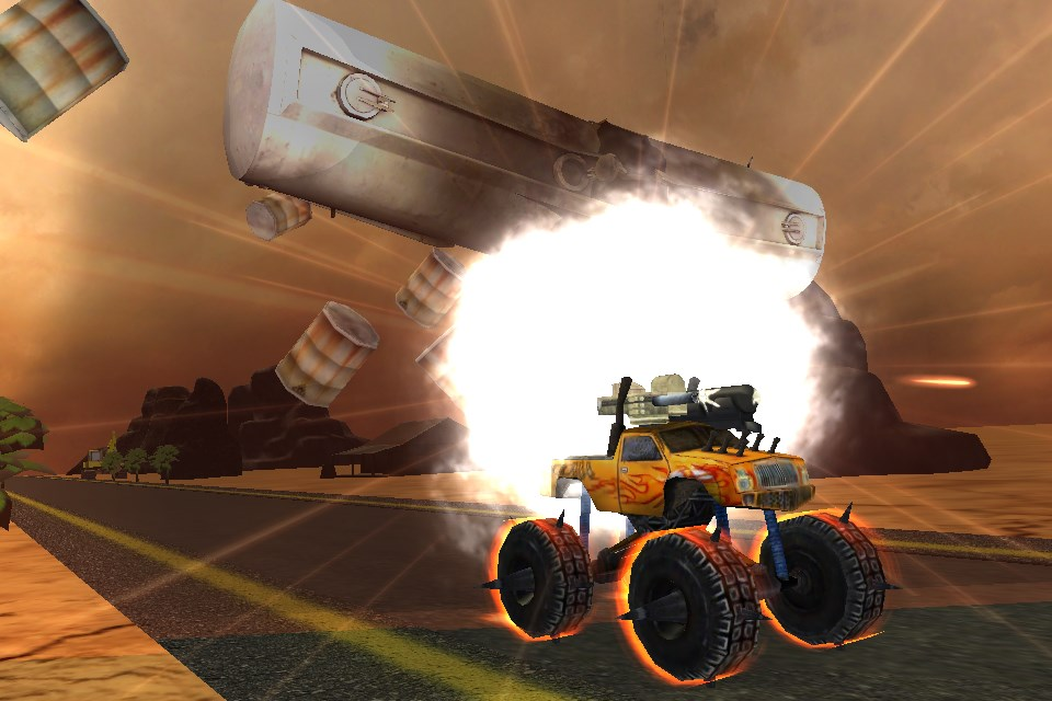 Crazy Monster Truck Fighter 3D - Imagem 1 do software