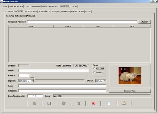 VetSuite STD - Imagem 1 do software