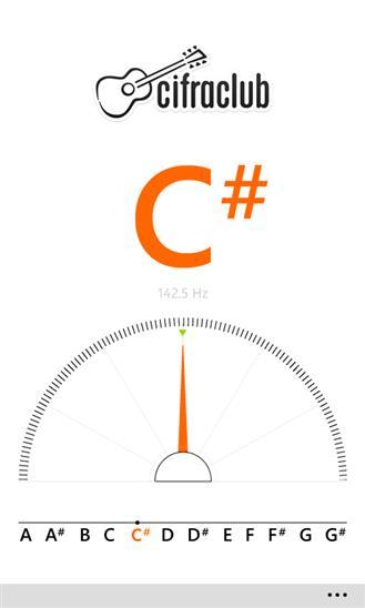 Cifra Club Tuner - Imagem 1 do software