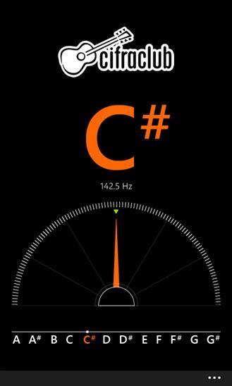 Cifra Club Tuner - Imagem 2 do software