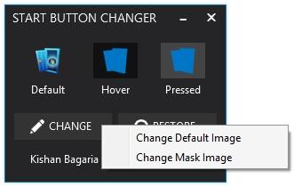 Windows 8.1 Start Button Changer - Imagem 3 do software