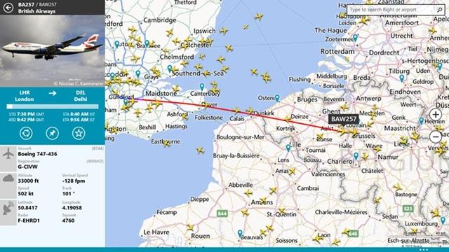 FlightRadar24 - Imagem 1 do software