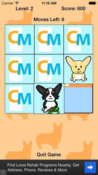 Corgi Memory - Imagem 2 do software