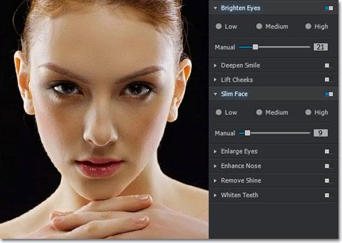 Portrait+ - Imagem 1 do software