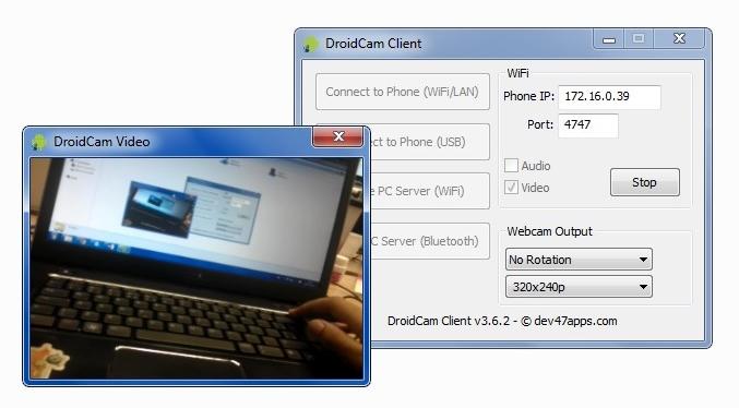 Esqueça sua webcam tradicional!
