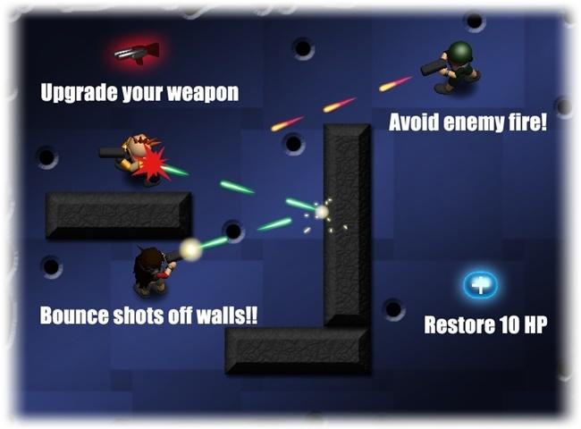 Super Ricochet Arena - Imagem 3 do software