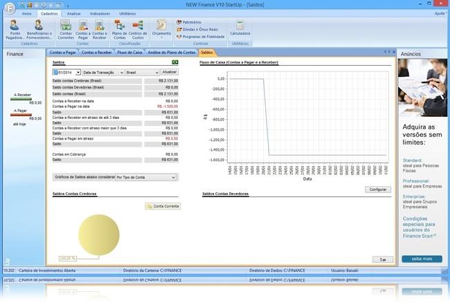 Finance StartUP - Imagem 3 do software