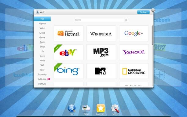 X New Tab Page para Opera - Imagem 1 do software