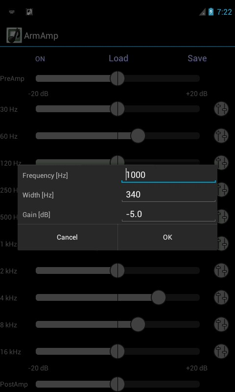 ArmAmp Music Player - Imagem 1 do software