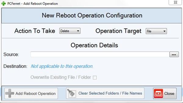 PCFerret - Imagem 2 do software