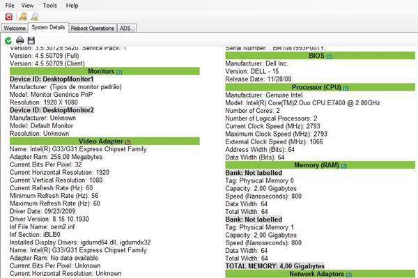 PCFerret - Imagem 1 do software