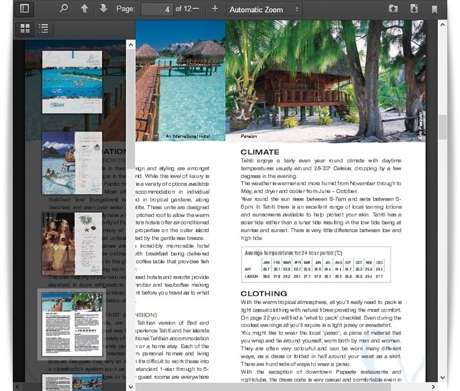Online PDF Reader & Viewer - Imagem 1 do software